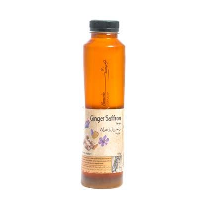شربت زنجبیل زعفران همنشین